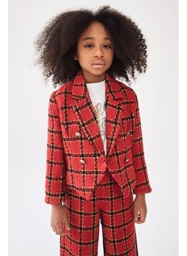Patrizia Pepe Kız Çocuk Kırmızı Ceket Kırmızı